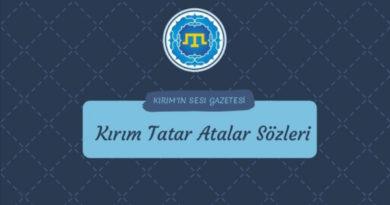 Kırım Tatar Atalar Sözleri