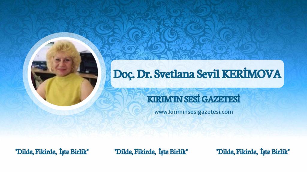 Svelana Sevil KERİMOVA