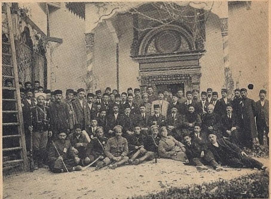 Aralık 1917de Bahçasarayda gerçekleşen ilk Kırım Tatar Kurultayı