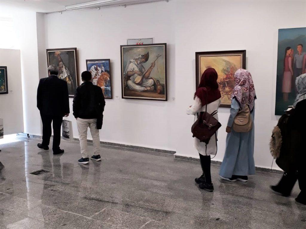 """Kastamonu'da, düzenlenen """"3. Türkistan Kurultayı"""" kapsamında TÜRKSOY Resim Sergisi"""
