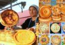 Özbekistan'ın nakışlı, imzalı ekmekleri
