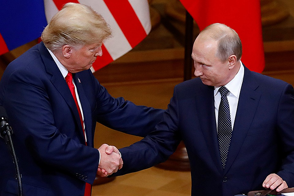 ABD Başkanı Donald Trump, Rusya Devlet Başkanı Vladimir Putin