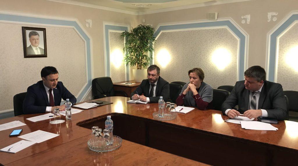 Ukraina Prezidentiniñ Qırım MC Daimiy Temsilcisiniñ Birinci muavini İzet Gdanov