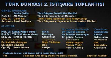 Türk Dünyası 2. İstişare Toplantısı