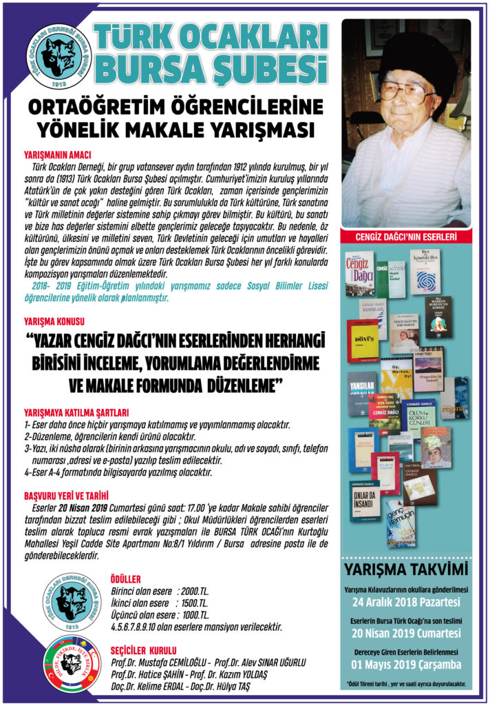 cengiz dağcı - türk ocakları