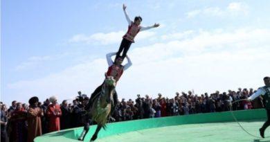 Türkmenistan'da Nevruz coşkusu