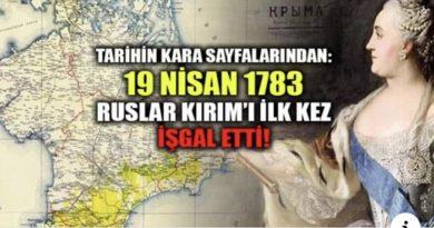 Rus İmparatorluğu'nun Kırım'ı ilhakı 19 Nisan 1783