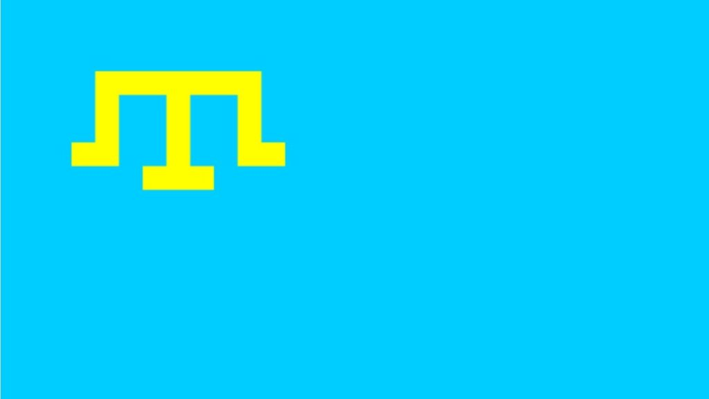 kırım tatar bayrak