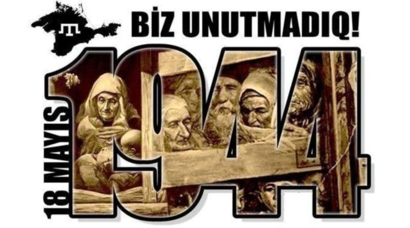 Kırım Tatar Sürgünü ve Soykırımı 18 Mayıs 1944