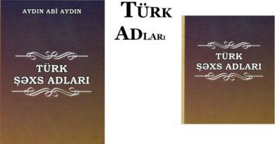 Azərbaycanda, bu qədim Oğuz Elində istifadə olunan Türk adları