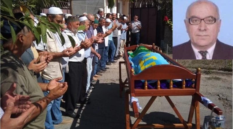 Kırım Milli Hareket Teşkilatı Başkanı Recep Hayrettin