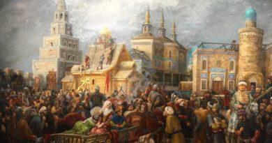 Kazan'ın düşüşü 1552 Ressam Firinat Halikov