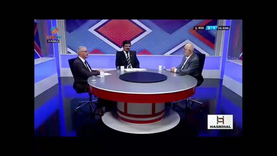 Kon tv de Salih Sedat Ersözlü'nün hazırlayıp sunduğu HASBİHAL Programı