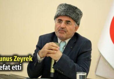 Ahıska Türklüğünün yılmaz savunucu Yunus Zeyrek vefat etti