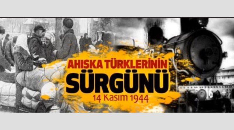 Stalin, 14 Kasım 1944'te, Ahıskalı Türkler 75 yıl önce vatansızlığa sürgün edildi