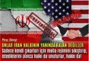 Piruz Dilençi : Onlar İran halkının yanında falan değiller